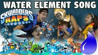 the WATER ELEMENT Song (Skylanders Raps)
