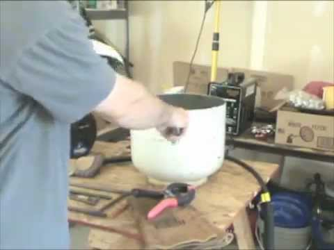 How to Build a Furnace from a Propane Tank Part 1