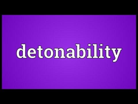 Header of detonability