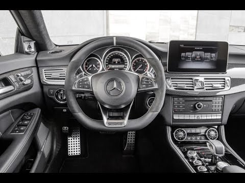 mercedes cls 400 shooting brake new 2015 drivng interior