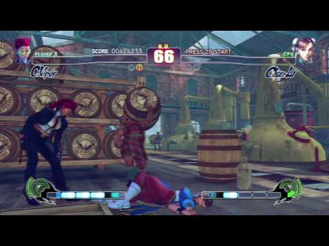 Street Fighter IV - C.Viper Arcade Playthrough (2/2) [HD] Video