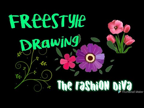 Saturday Freestyle Drawing : The Fashion Diva