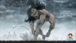 Levi GOD Mode vs Titan - Attack On Titan No Regrets Episode 2 OVA Shingeki no Kyojin 2017