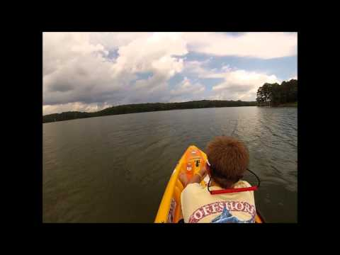 Kayak Gar Fishing Lake Allatoona