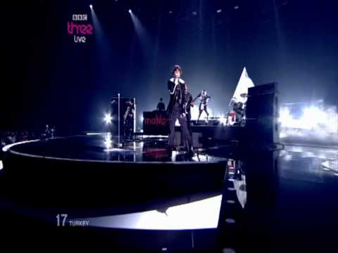 Turkey - Eurovision Song Contest 2010 Semi Final - BBC Three klip izle
