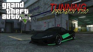 PROGEN T20 TUNNING / GTA 5 ONLINE 1.26 DLC PS3
