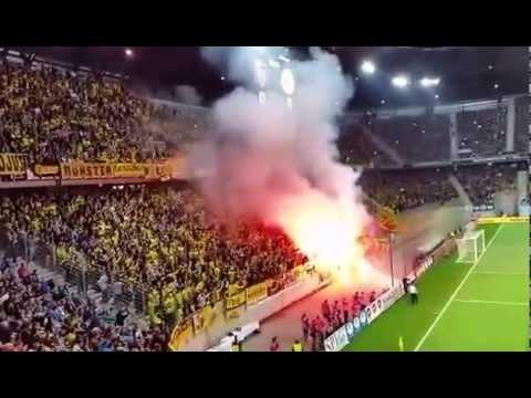 Dortmund Fans Pyro Bvb Borussia Dortmund Pyro