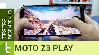 Moto Z3 Play desaponta em desempenho e repete falha de Moto X4 e G6 Plus