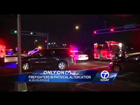 Chief: Firefighters fighting at crash scene 'embarrassing'
