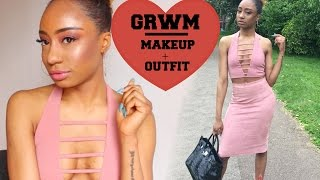 GRWM: AMREZY INSPIRED PINK PASTEL MAKEUP AND OUTFIT