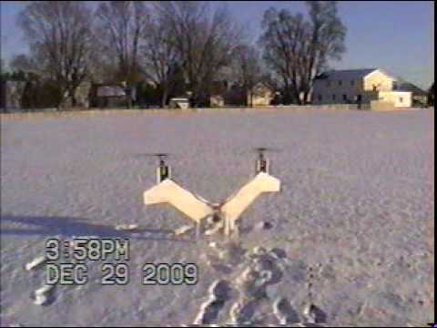 NASA Puffin Electric VTOL1/3 Scale  Initial Hover Tests