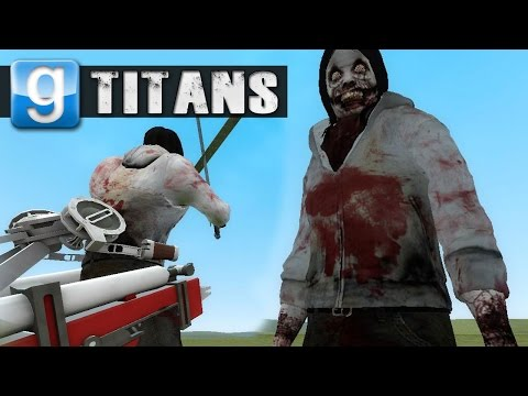 JEFF THE KILLER TITAN | Gmod Sandbox Fun w/ Friends