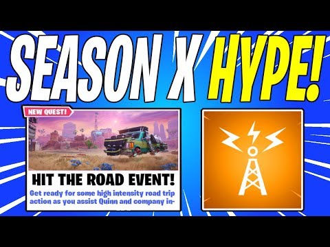 NEW Hit The Road Gamemode & STW Locker! Season 10 / X Patch Notes | Fortnite Save The World News
