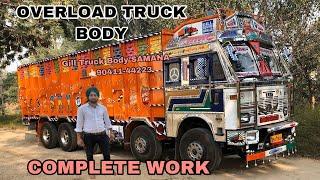 Tata MOTORS 3718 overload part 1