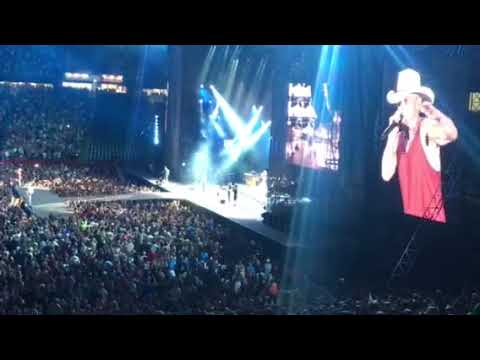 """Kenny Chesney With Special Guest David Lee Murphy """"Everything Is Going To Be Alright"""" 8-2018"""