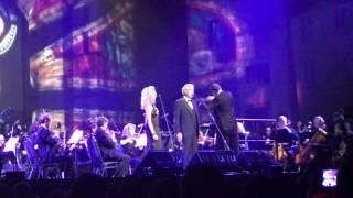 The Prayer Andrea Bocelli Tori Kelly Live In Seattle