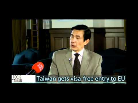 Taiwan gets visa free waiver to EU