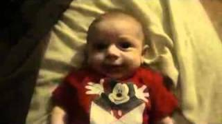 Mom's Evil Laugh Scares Baby