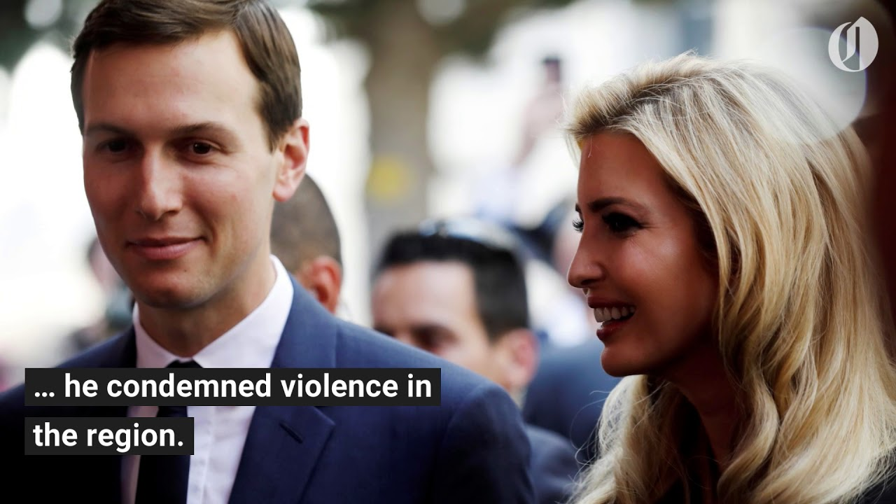 Jared Kushner speaks at US Embassy opening in Jerusalem as dozens killed in Gaza protest