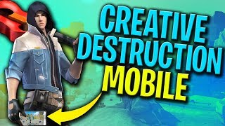 🛑Playing With Subs/// FUN CUSTOM + SCRIMS AND 1V1 // Live Creative Destruction Mobile// US Server
