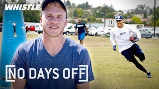 NFL STAR Wide Receiver Workout | LA Rams Cooper Kupp