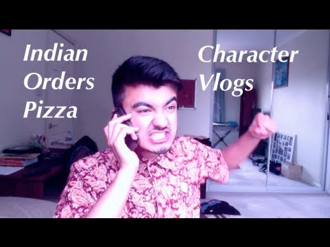 Indian Man Orders Pizza
