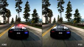 Need for Speed_ Hot Pursuit - Xbox 360 vs. PS3 comparison
