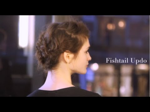 Fishtail Braid Up-Do- Sally Hershberger Downtown Salon