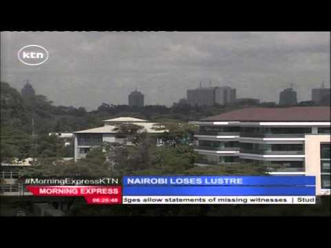 Nairobi City loses lustre rated the worst city to live in