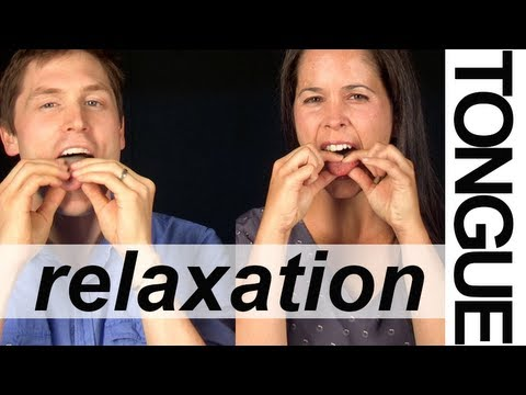 TONGUE RELAXATION EXERCISES (3 of 6) — Vocal Exercises — American English Pronunciation