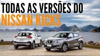 🚙 Veja todas as versões do NISSAN KICKS em movimento #BlogAuto
