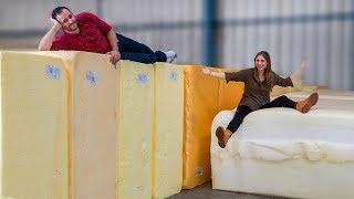 Como são feitos os colchões #Boravê