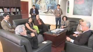 Embajador de Palestina visita la CCE