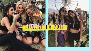 Coachella 2018 looks + hair - WEEKVLOG - Anna Nooshin