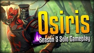 Smite: Mage's Blessing is so Strong!- Season 5 Osiris Solo Gameplay