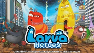Larva Heroes: Lavengers 2014 Android HD GamePlay Trailer [Game For Kids]