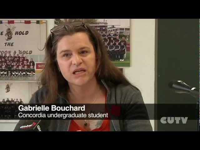 Quality of Education Under Threat press conference  Concordia