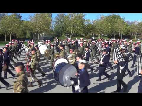 Royal Marines School of Music and Sea Cadets Massed Bands - Oct 2017