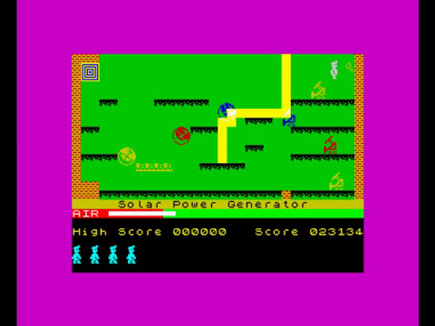 ZX SPECTRUM MANIC MINER WALKTHROUGH PART 2