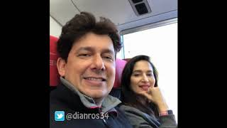 Madhuri Dixit and Dr Ram Nene Holiday in Japan 2018