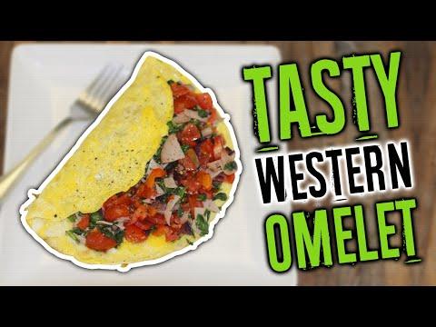 Healthy Muscle Building Breakfast: Western Omelette Recipe - Live Lean TV