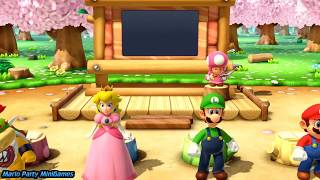Super Mario Party Minigames (Baby Videos for Babies to Watch)