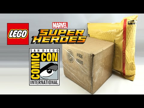 Rare LEGO Marvel SDCC Exclusive Mystery Box Haul!