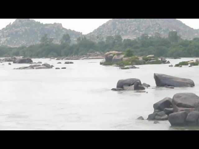 A View From Hampi River.MTS