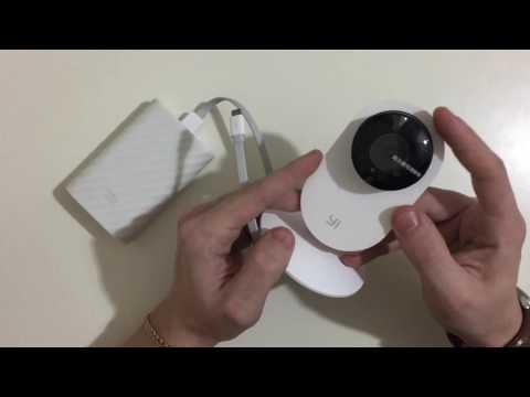Процесс настройки и подключения Yi home camera