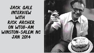 Jack Gale on WTOB Winston Salem 2014