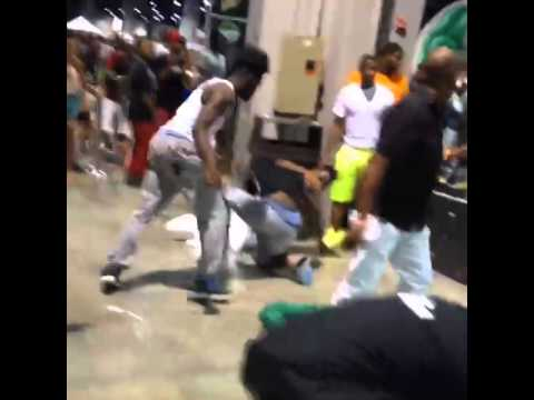 Fights break out at V103 Car and Bike Show