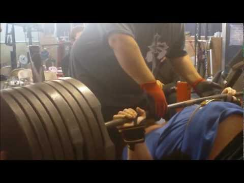 Henry Thomason - XPC Powerlifting Bench Press Training 02/13/13 @ KPG Image 1