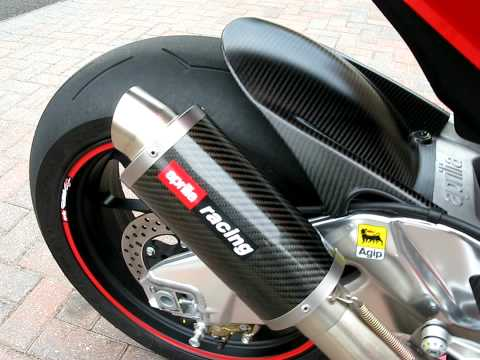 Aprilia RSV4 with Austin Racing Motogp style exhaust