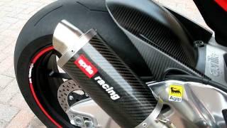 Aprilia RSV4 with Austin Racing Motogp style exhaust